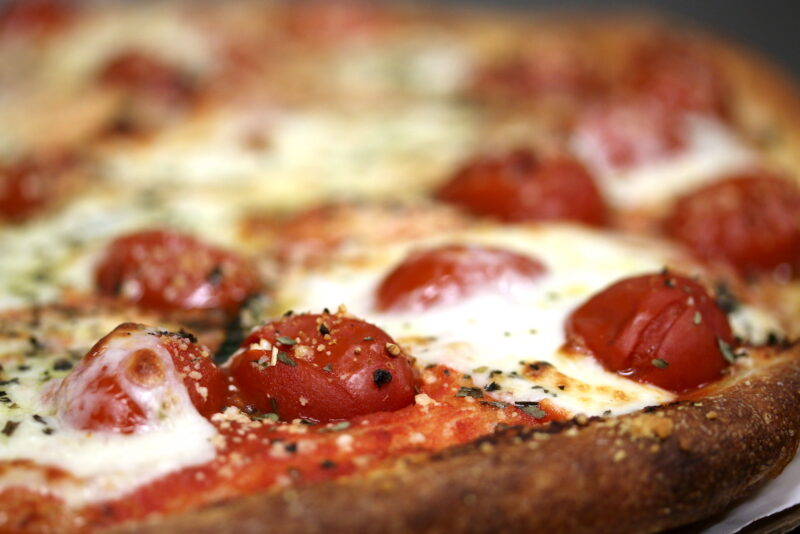 Pomodoro Pie at Vito's Pizzaria