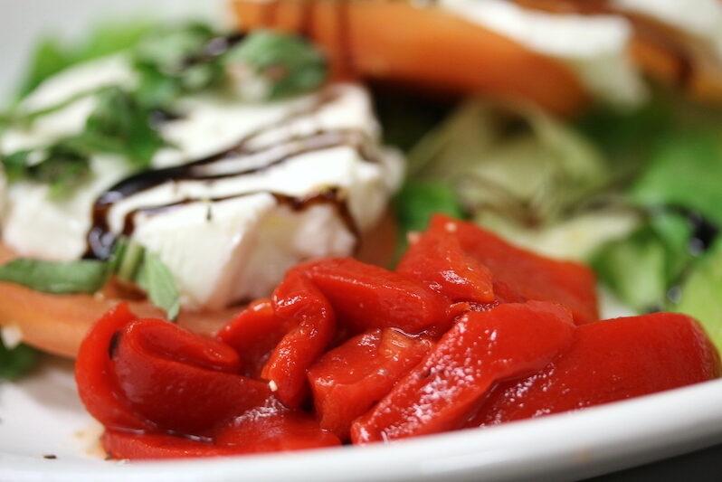 Mozzarella Salad at Vito's Pizzaria
